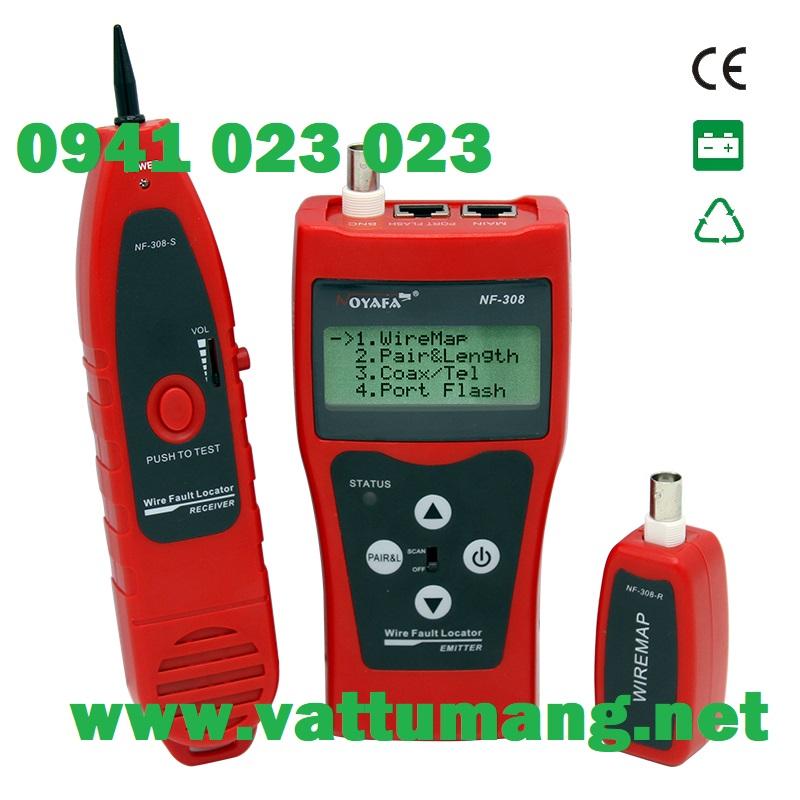 Bộ test cáp mạng NOYAFA NF-308