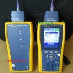 Cho Thuê bộ test băng thông có report kết quả FLUKE DTX-1800,